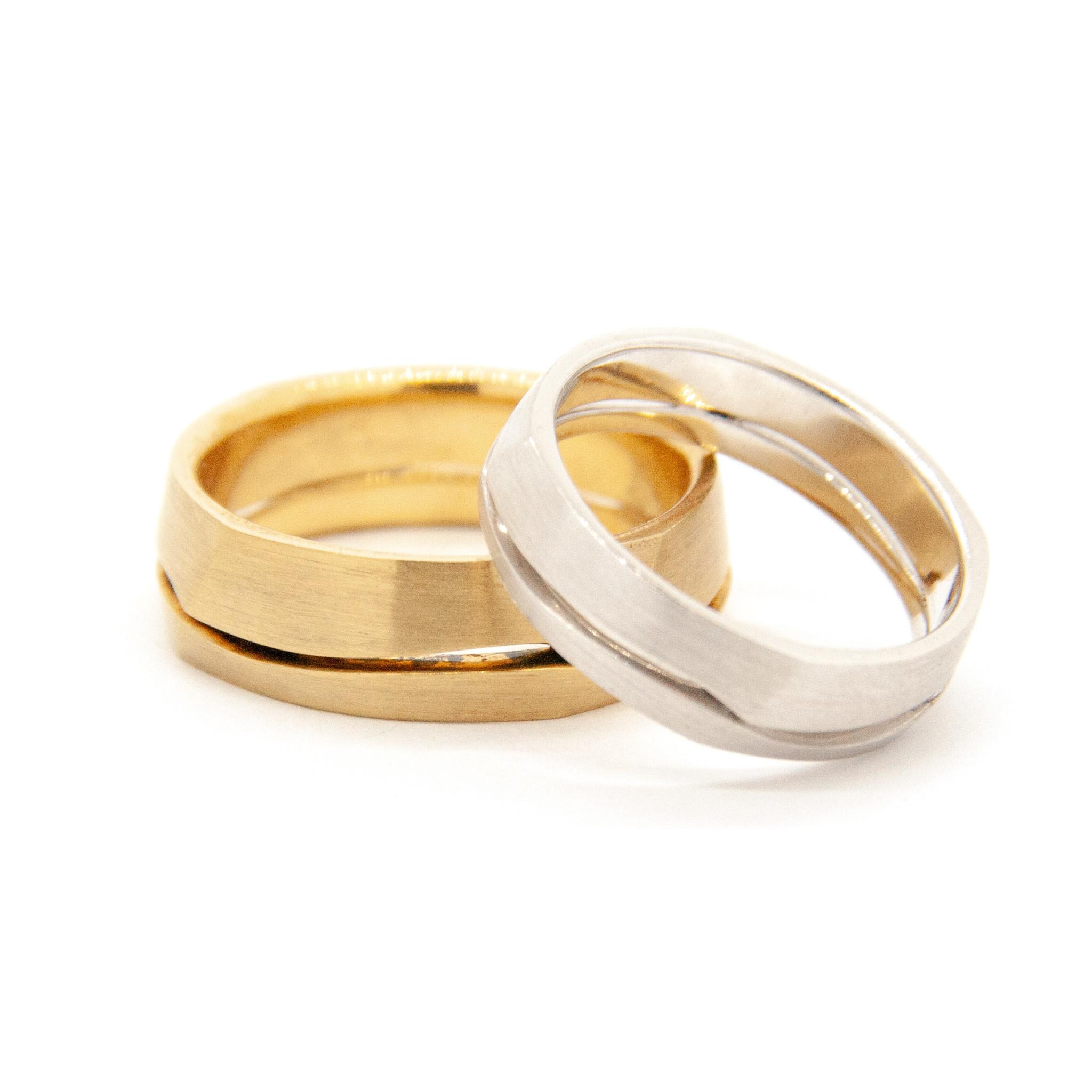 14k Yellow Gold Wedding Ring-2