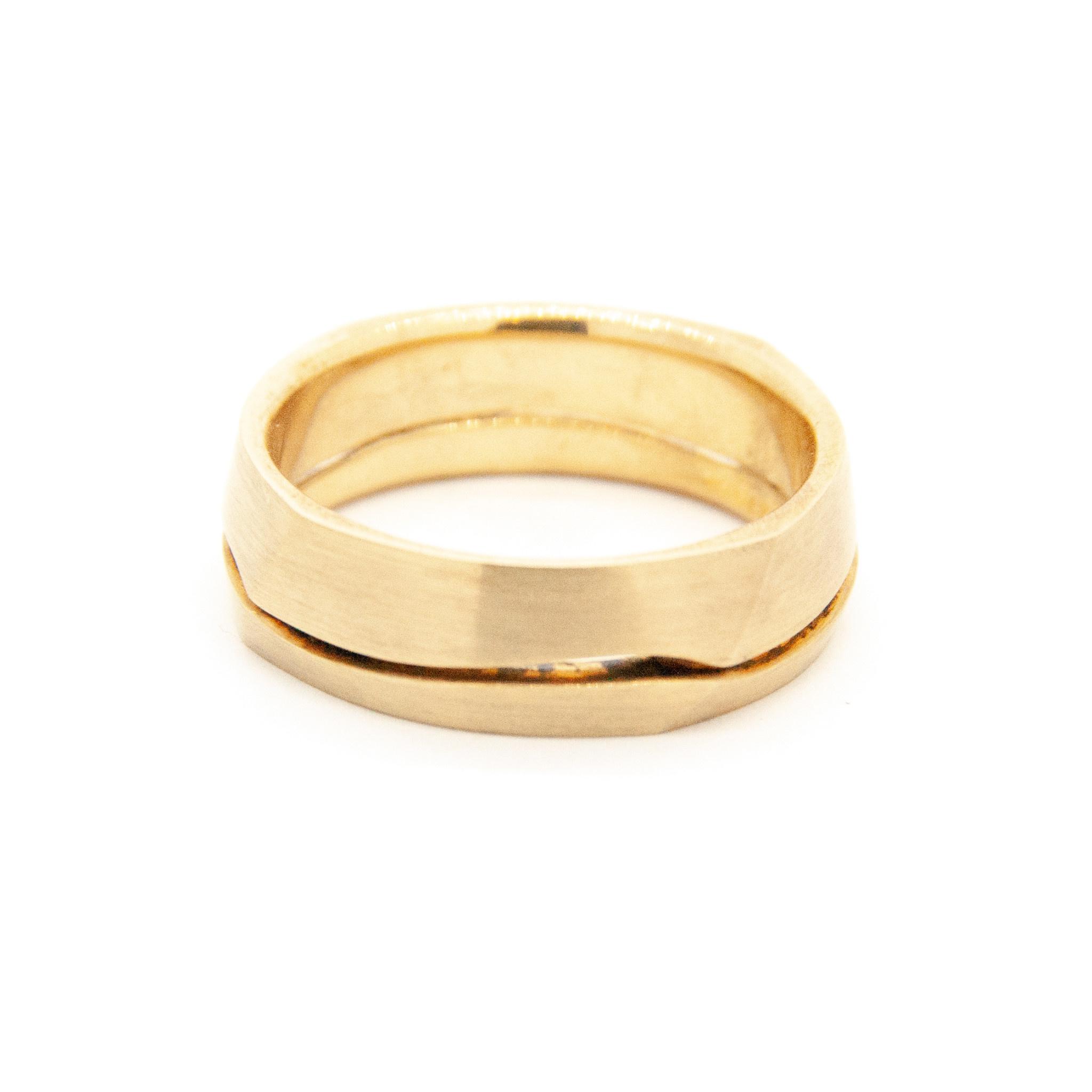 14k Yellow Gold Wedding Ring-5