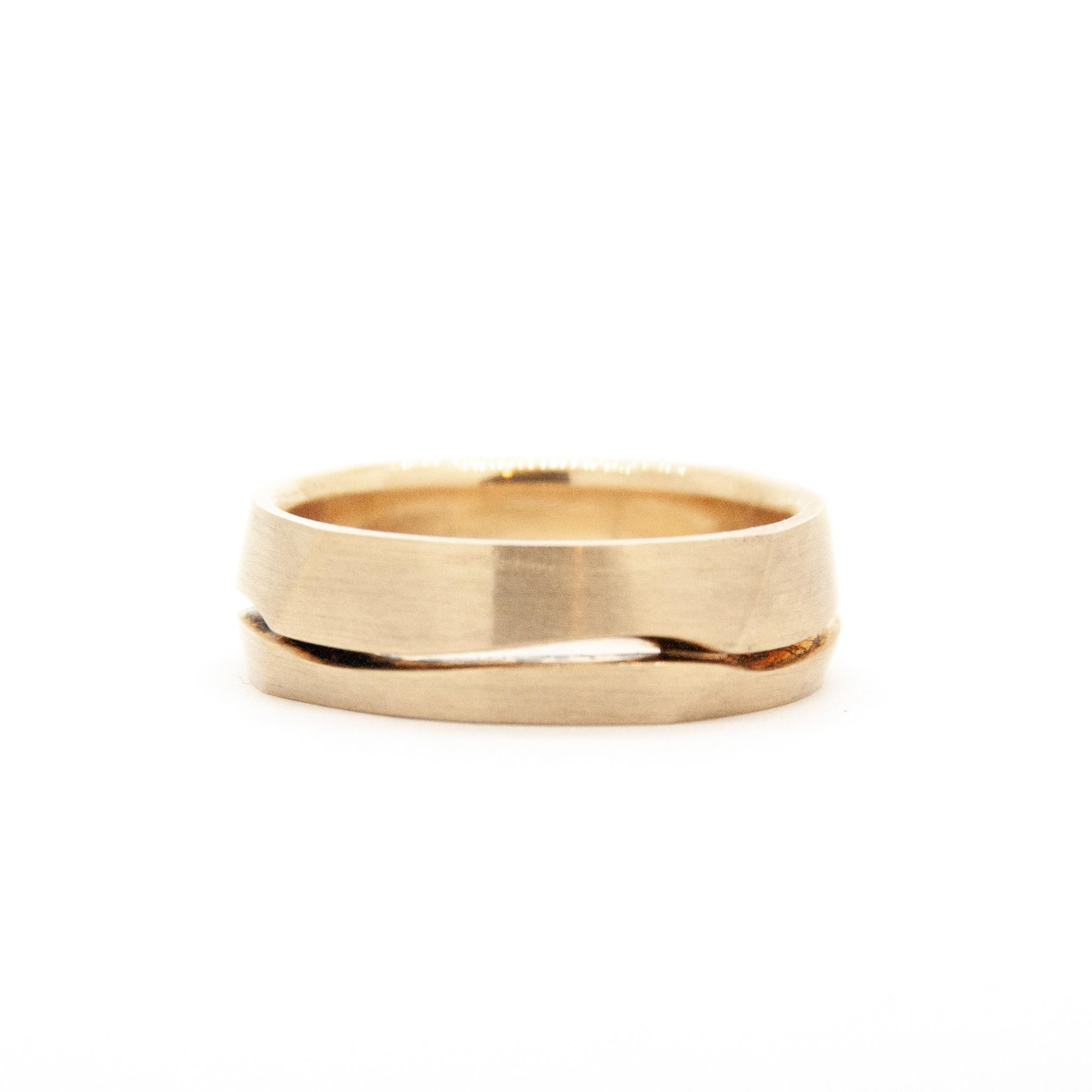 14k Yellow Gold Wedding Ring-6