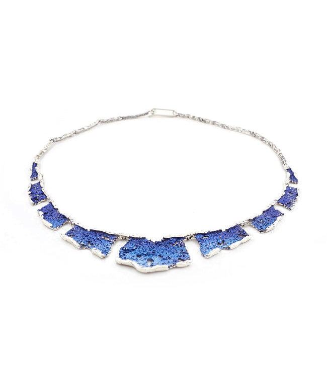 Electric-blue Intenzza Collier