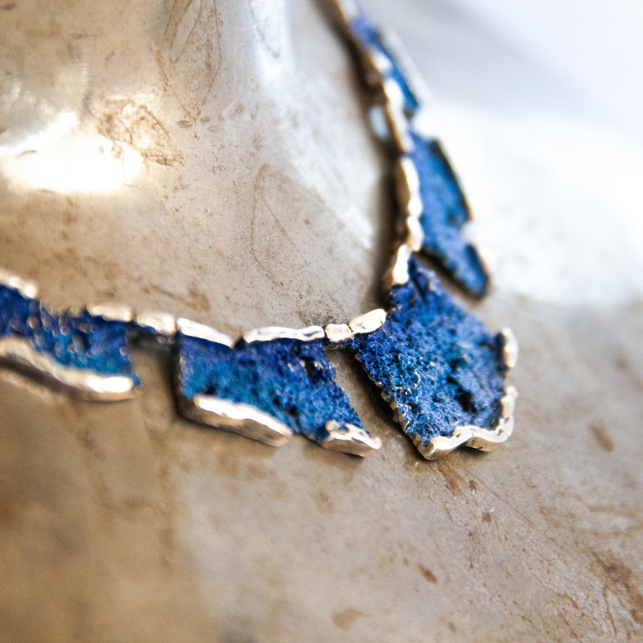 Electric-blue Intenzza Collier-2