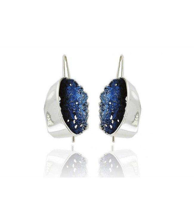 Gala Oorbellen Blau Elèctric