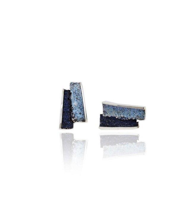 Troia Oorbellen Blau Formentera