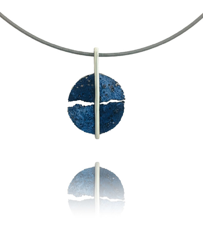 Moon Hanger Blau Elèctric