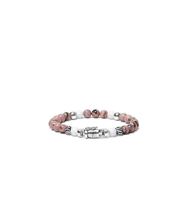 Buddha to Buddha Spirit Bead Mini Pink Rhodonit