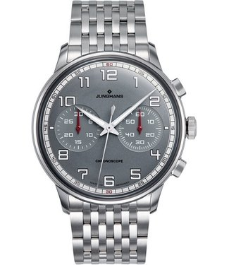 Junghans watches Watch Junghans Meister Driver Chronoscope 027/3686.44