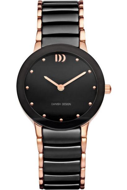 Danish Design Watch Iv68Q1065 Ceramic Stainless Steel Sapphire.