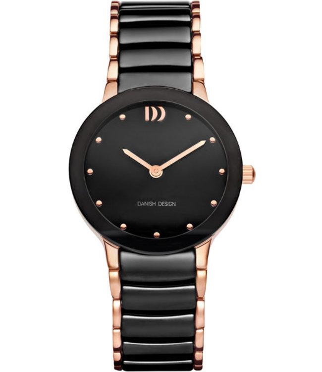 Danish Design Watch Iv68Q1065 Ceramic Stainless Steel Sapphire .