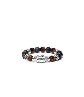 Buddha to Buddha Spirit Bead Mix Sodalite Tigereye
