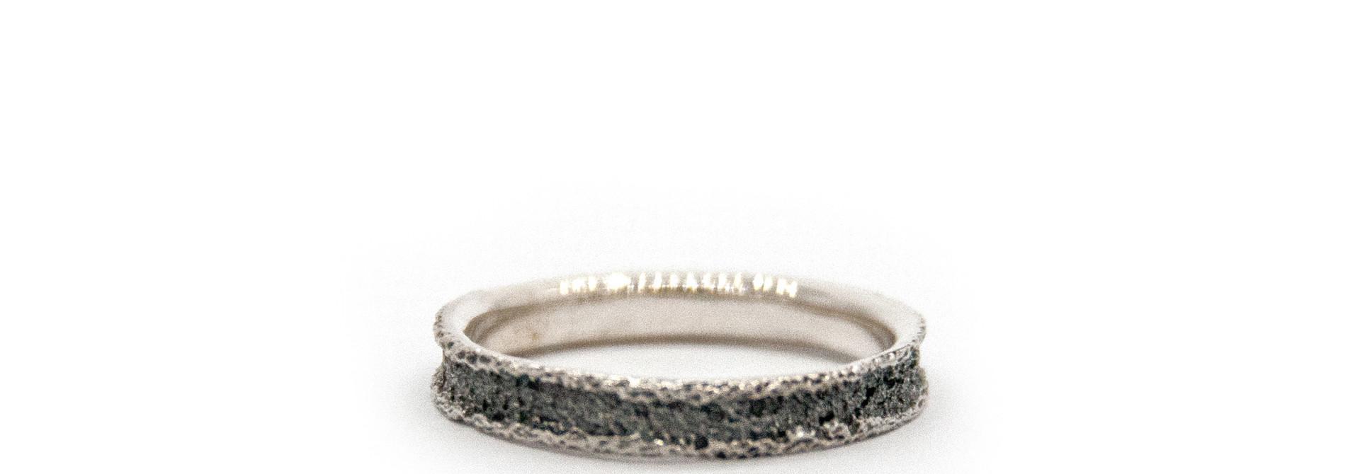 Wedding ring Anell desert mini