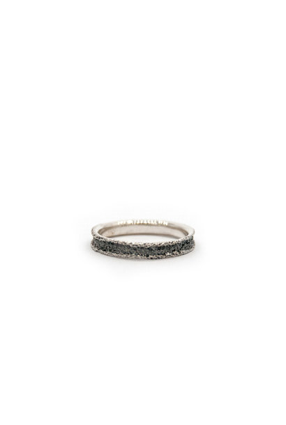 Wedding ring Anell desert mini