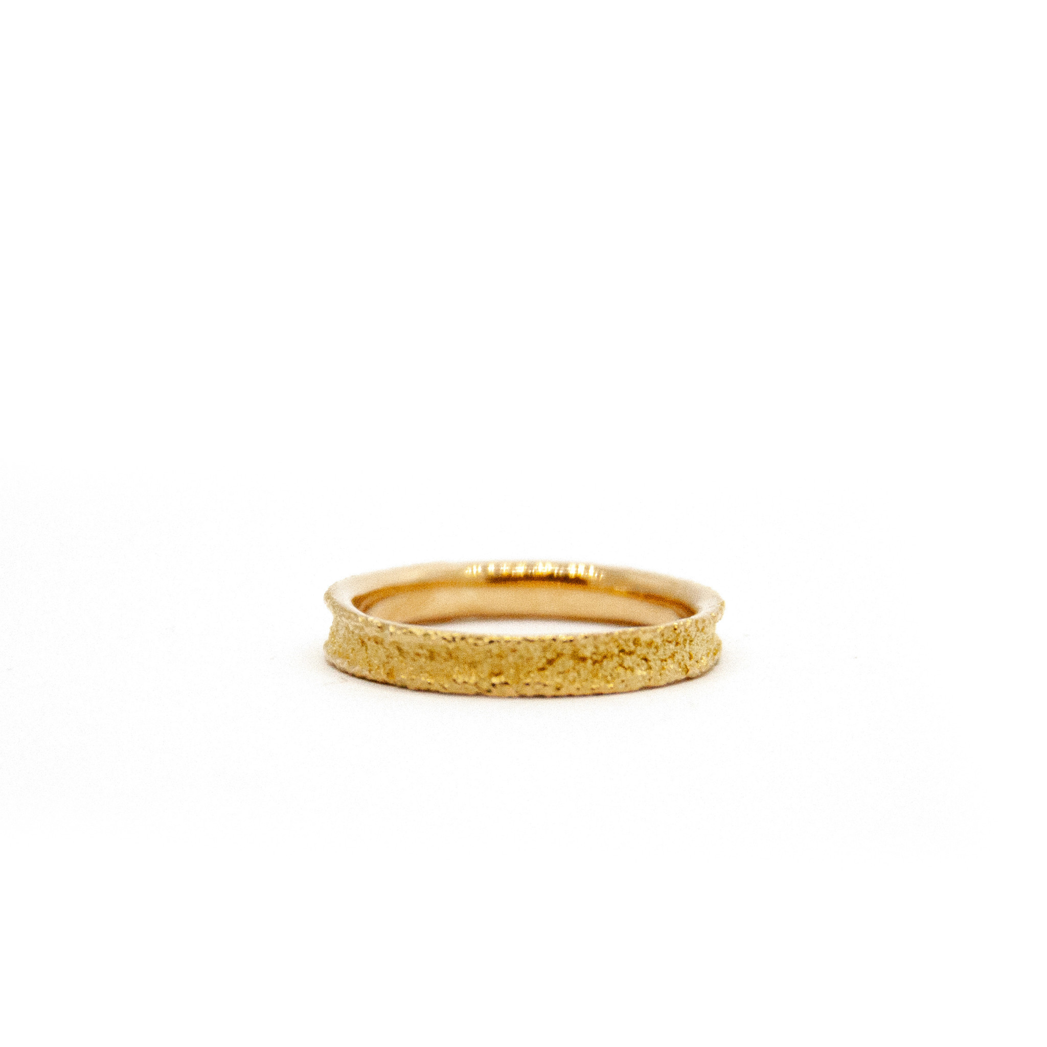 Wedding ring Anell desert mini 18 karaats geelgoud-2