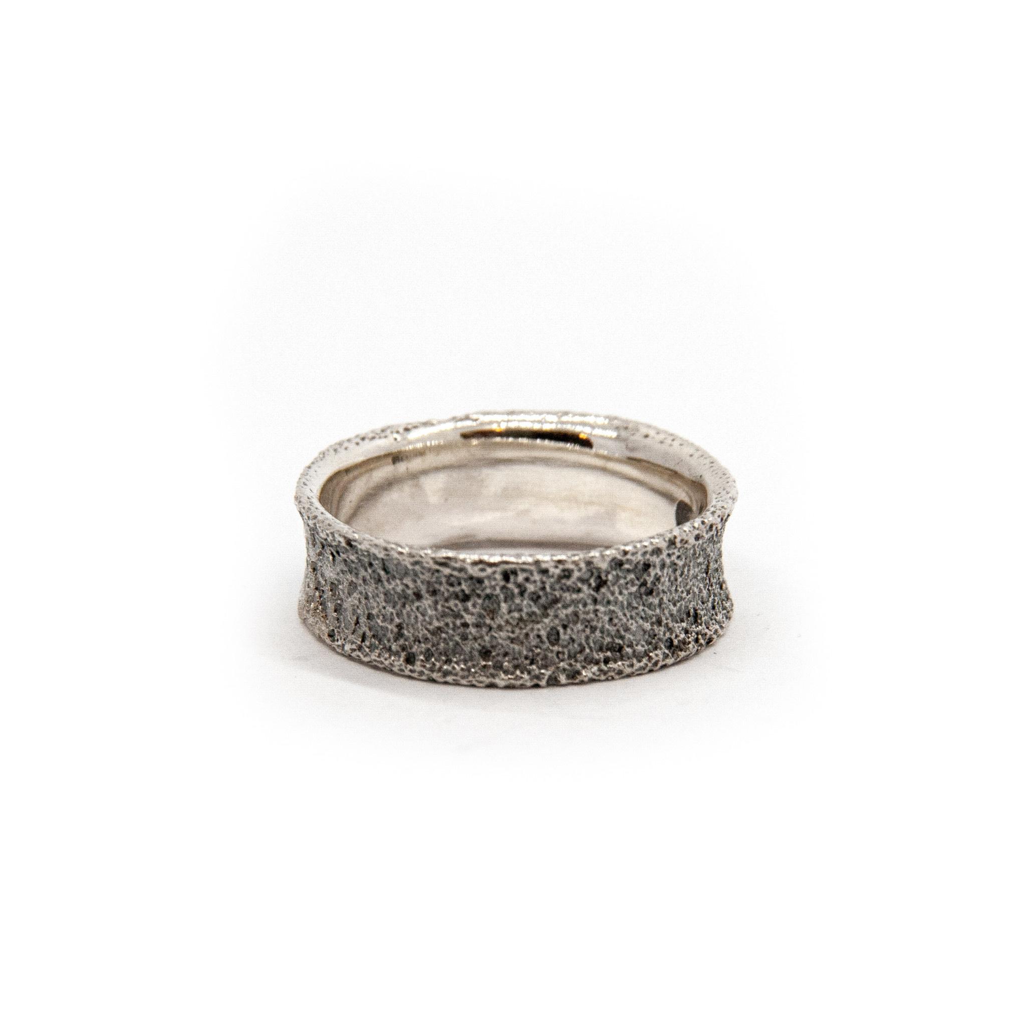 Wedding ring Anell desert mitjá-3