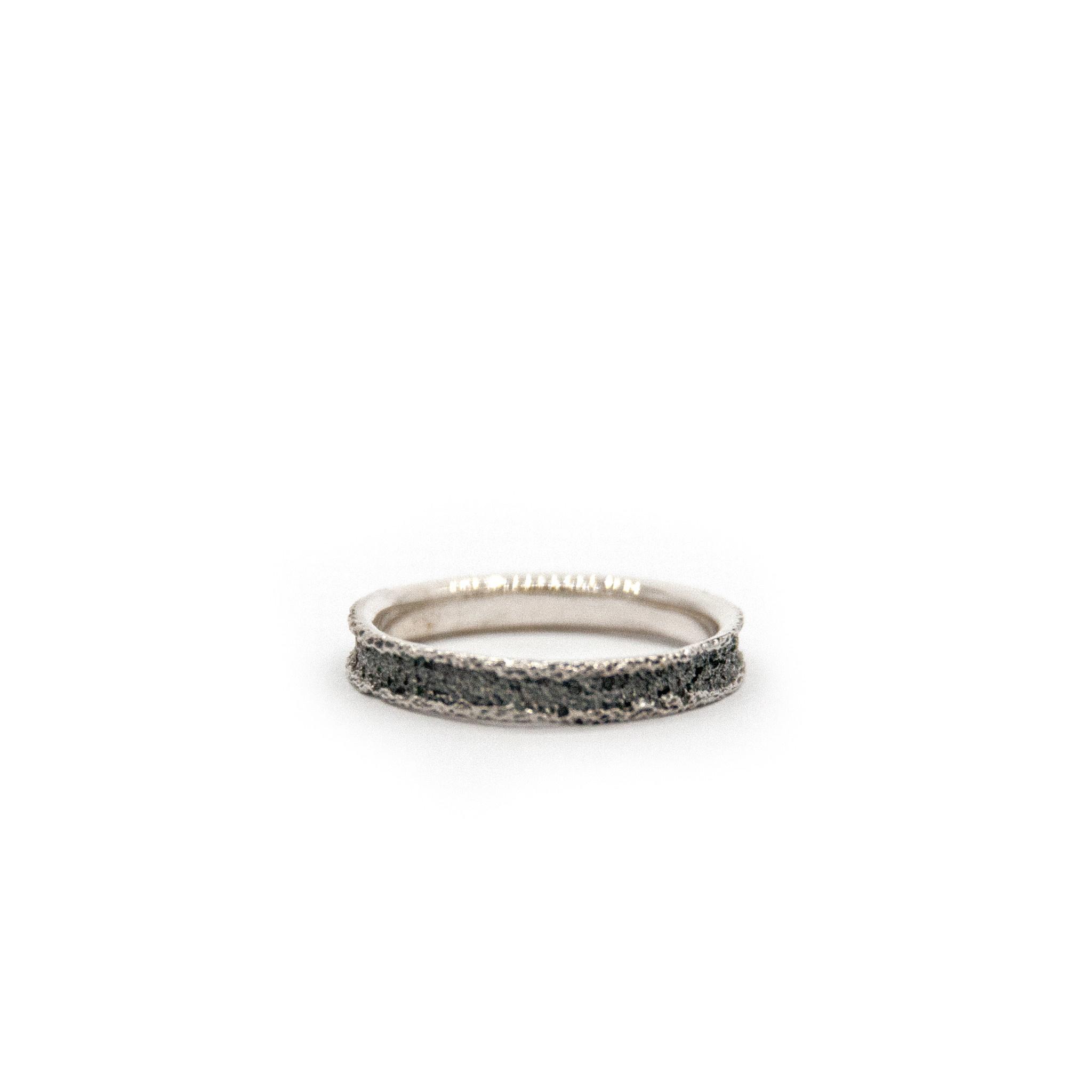 Wedding ring Anell desert mini-4