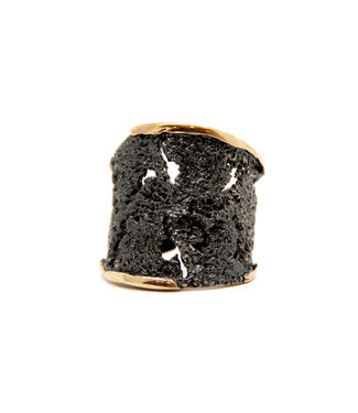 Arior Barcelona Intenzza GoldenBlack big ring