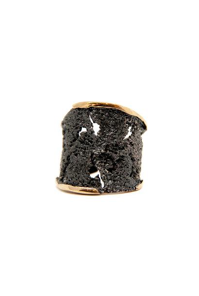 Intenzza GoldenBlack big ring