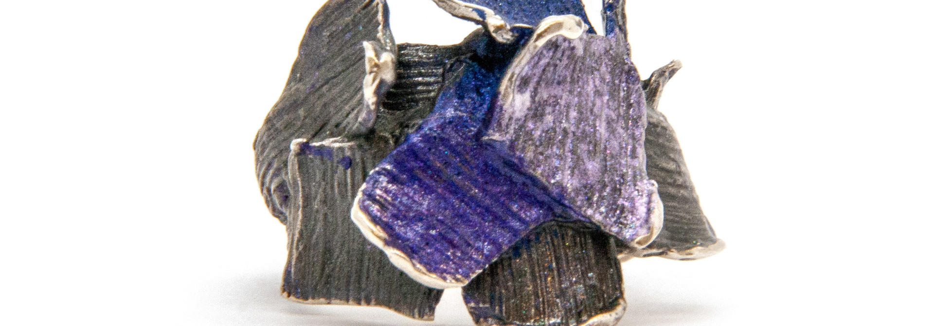 Small violet Summum ring