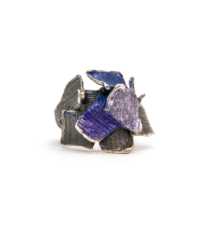 Arior Barcelona Small violet Summum ring