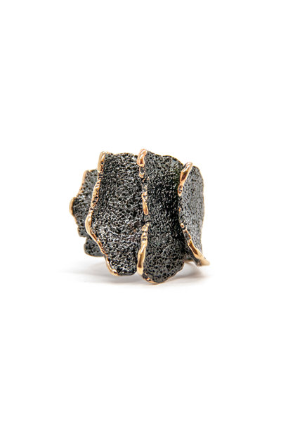 Atlas GoldenBlack Ring