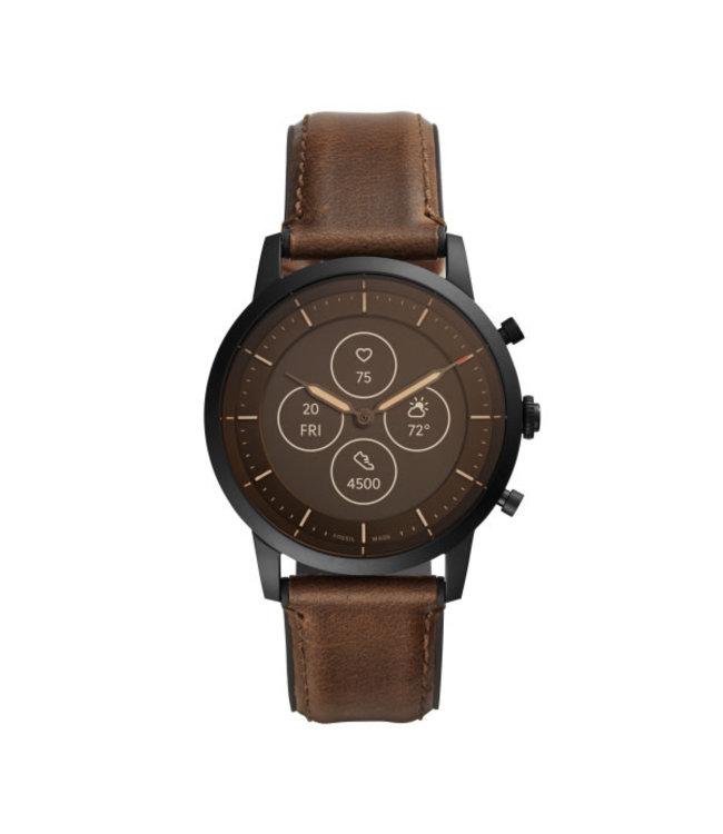 Fossil Collider Hybrid Smartwatch Hr Heren Smartwatchs FTW7008