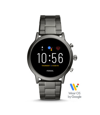 Fossil The Carlyle Hr Smartwatch Gen 5 Heren smartwatch FTW4024