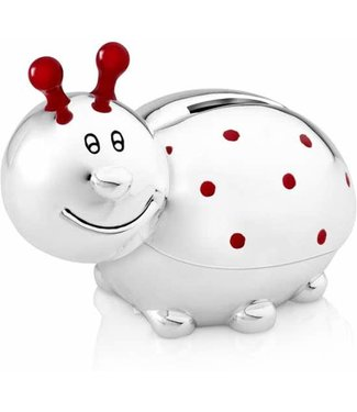 Zilverstad ladybug piggy bank