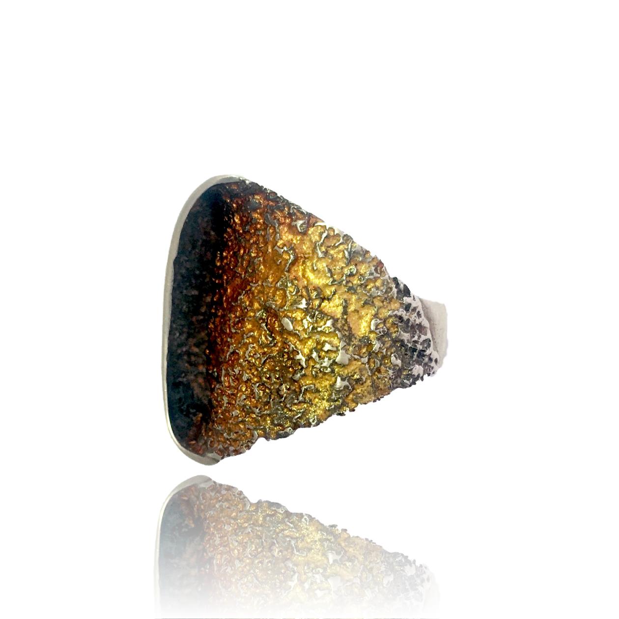Gala Ring Ocre Bronze-10