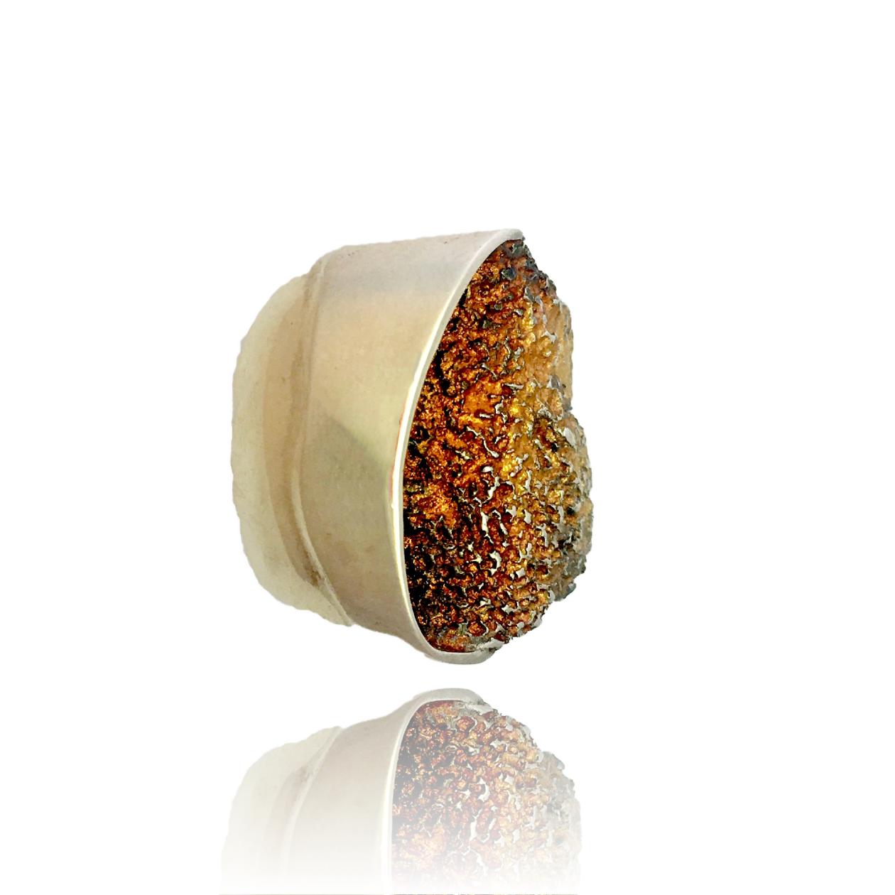 Gala Ring Ocre Bronze-11