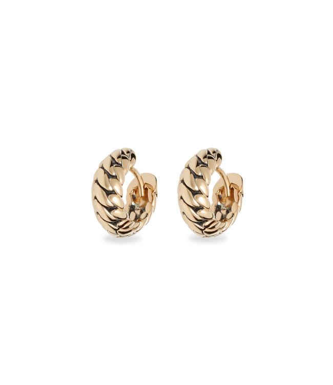Buddha to Buddha Ben Yellow Gold Earrings