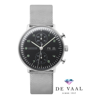 Junghans watches Max Bill Chronoscope 027/4500.45 English