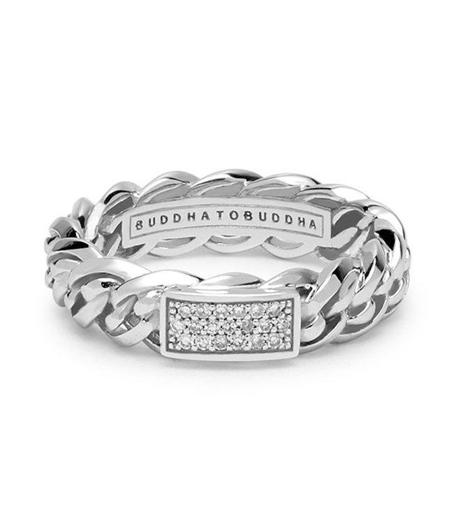 Buddha to Buddha Nathalie White Gold Diamond Ring