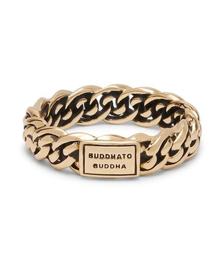 Buddha to Buddha Ring Nathalie Yellow Gold
