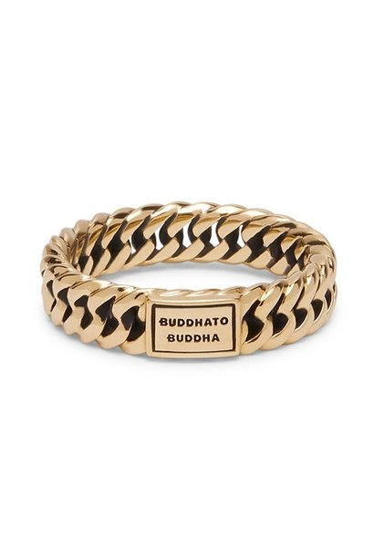 Ring Chain Yellow Gold
