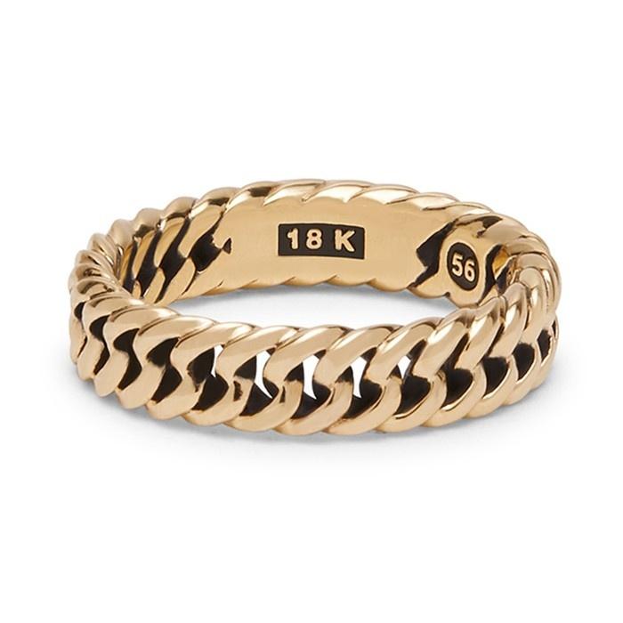Ring Chain Geelgoud-3