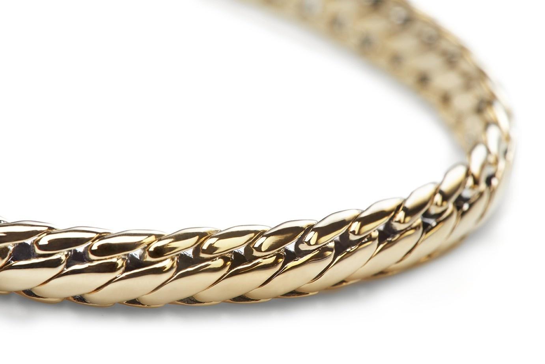 Ben bracelet Yellow gold-5