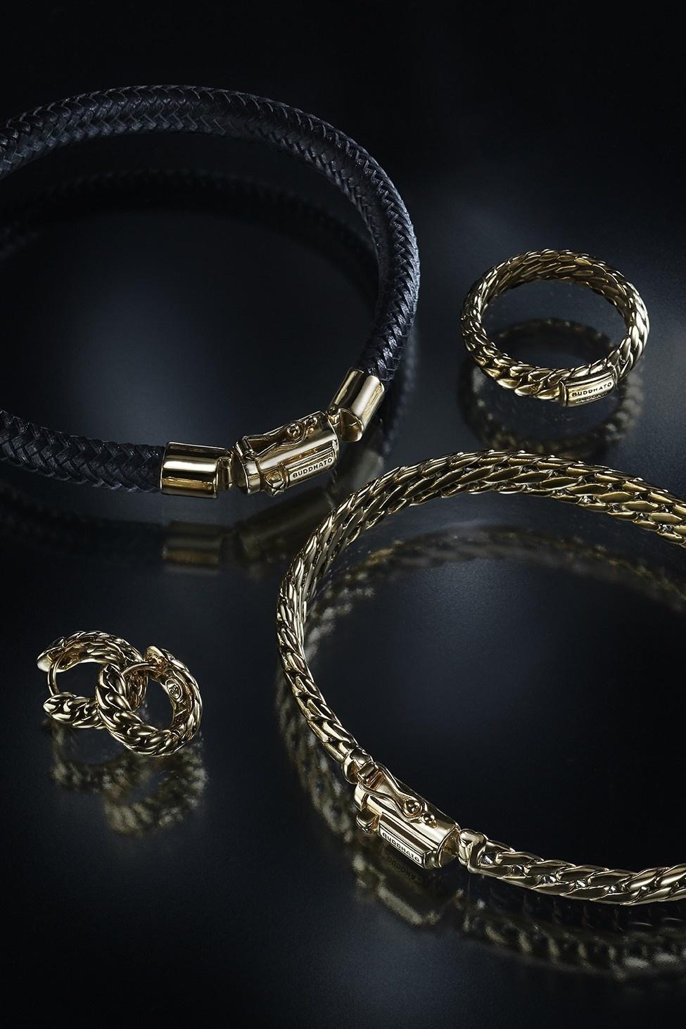 Ben bracelet Yellow gold-6
