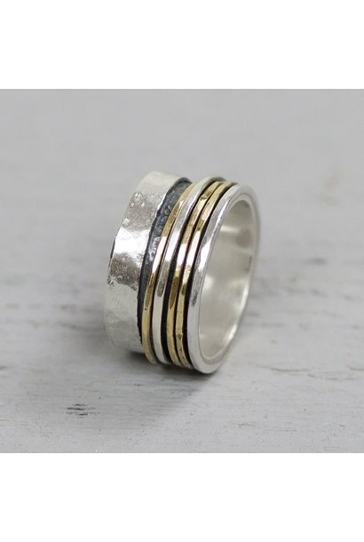 Ring Silver + Gold Filled 20061