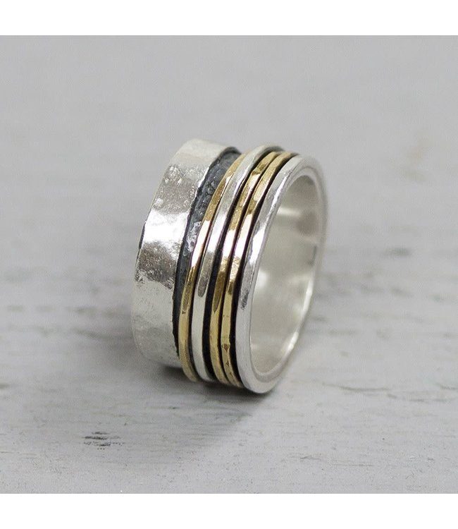 Jeh Jewels Ring Silver + Gold Filled 20061