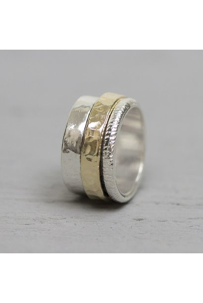Ring Silver + Gold Filled 19967