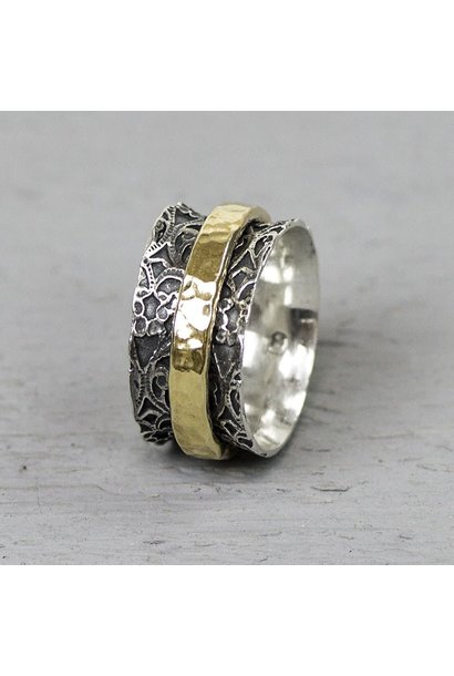 Ring Silver + Gold Filled 19970