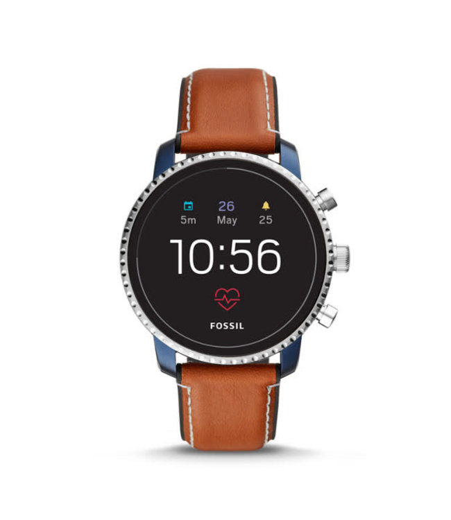 Fossil Explorist Hr Smartwatch Heren Smartwatch FTW4016