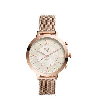 Fossil Jacqueline Hybrid Smartwatch Dames Smartwatch FTW5018