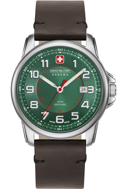 Swiss Military Hanowa 06-4330.04.006 Swiss Grenadier horloge