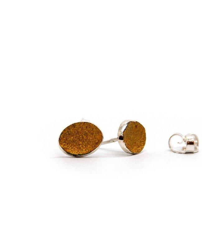 Ratio yellow earring