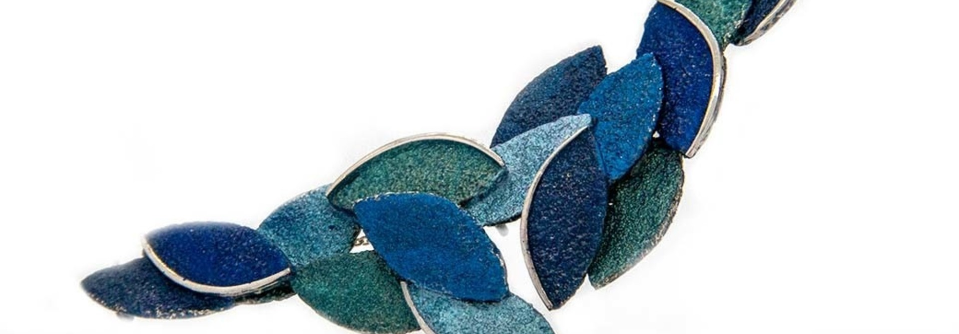 Eire blue necklace