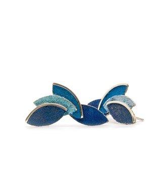 Arior Barcelona Eire blue earring