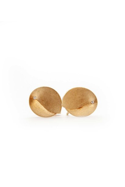 Abalone Earrings 0.02Crt