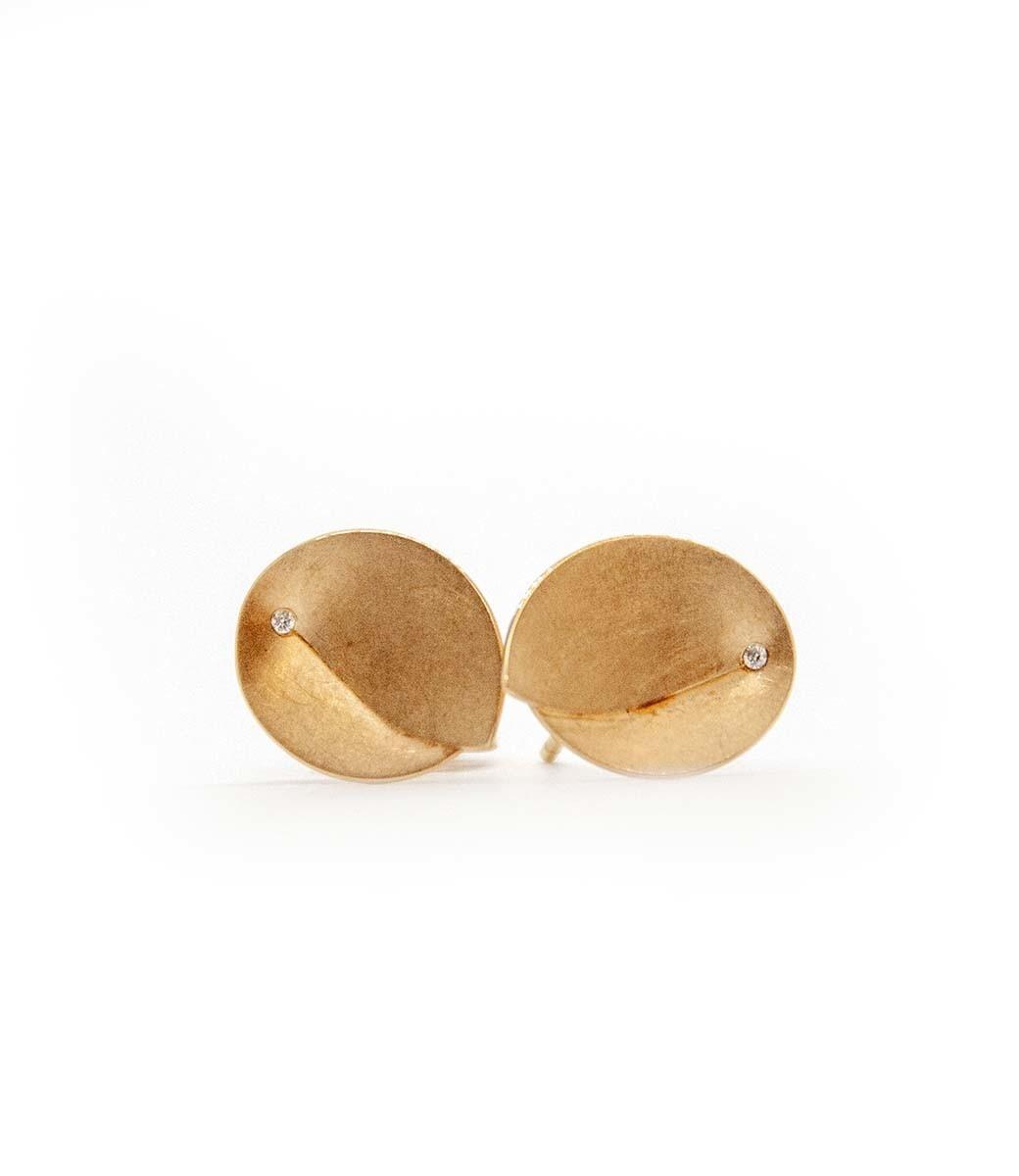 Abalone Earrings 0.02Crt-1