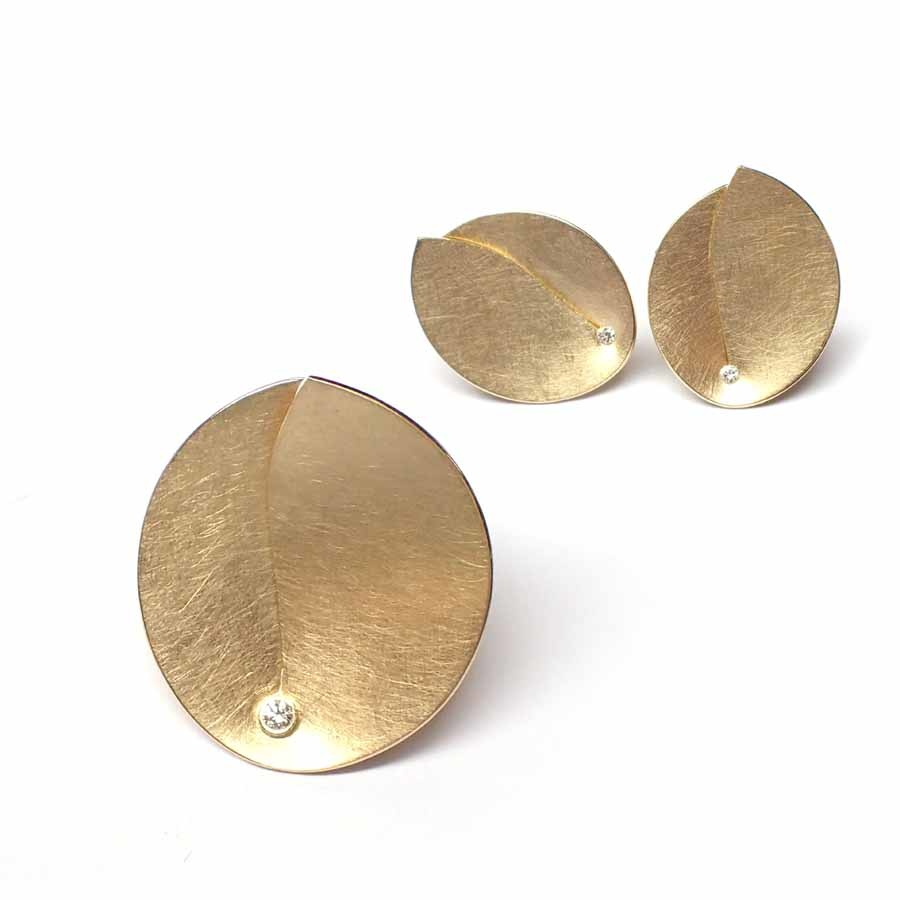Abalone Earrings 0.02Crt-2