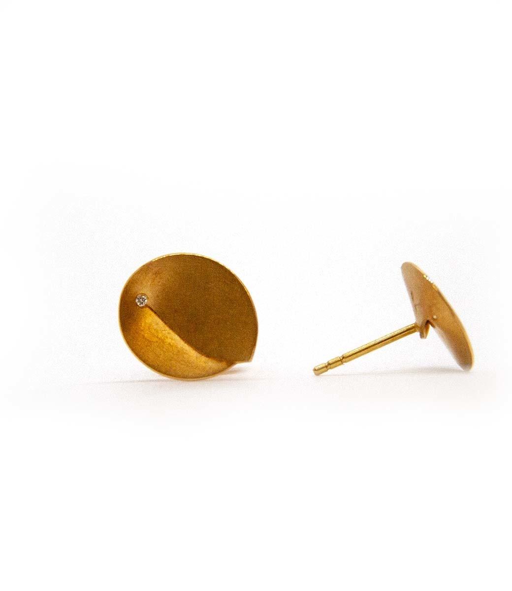 Abalone Earrings 0.02Crt-3